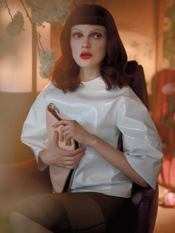 heartbreak hotel guinevere van seenus javier vallhonrat lucinda chambers vogue uk, april 2013 03